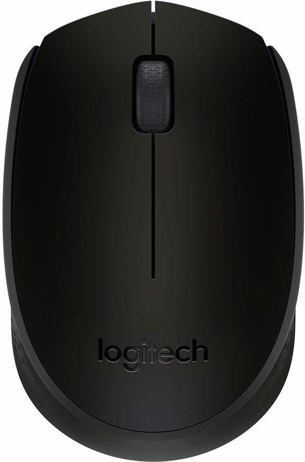 Мышь LOGITECH B170, беспроводная, USB, черный