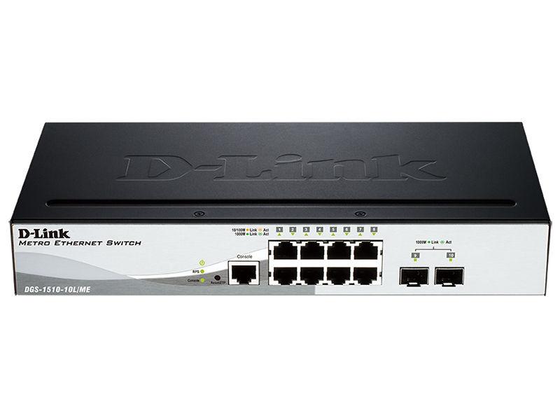 Коммутатор D-LINK DGS-1510-10L/ME/A1A, DGS-1510-10L/ME/A1A
