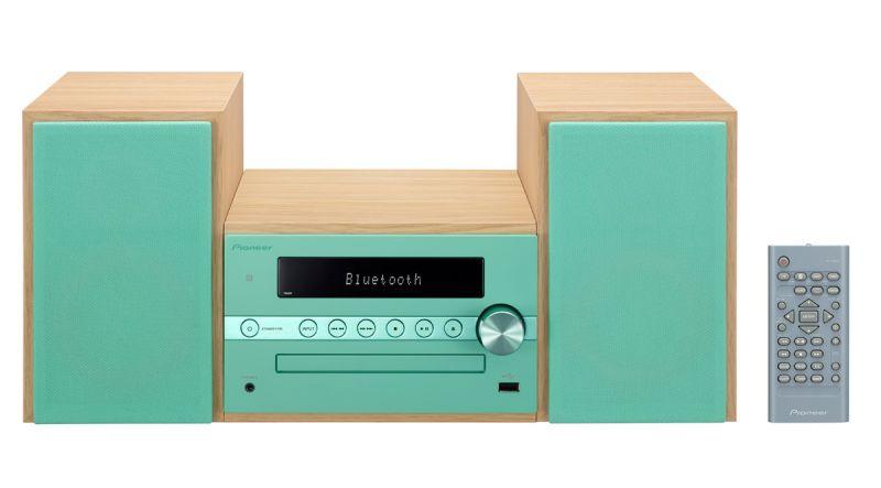 Музыкальный центр PIONEER X-CM56-GR,  зеленый