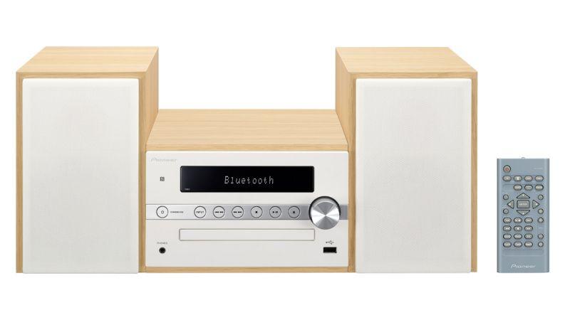 Музыкальный центр PIONEER X-CM56-W,  белый
