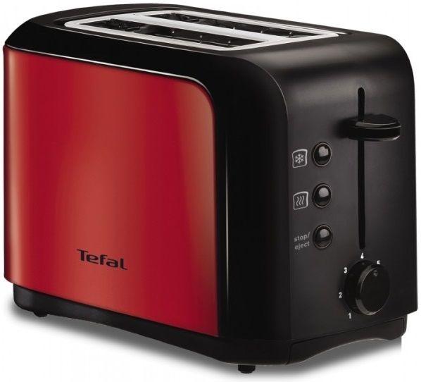 Тостер TEFAL TT356E30,  красный/черный [1500578364]