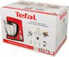 Миксер TEFAL QB508GB1, с чашей,  красный [8000035709] вид 10