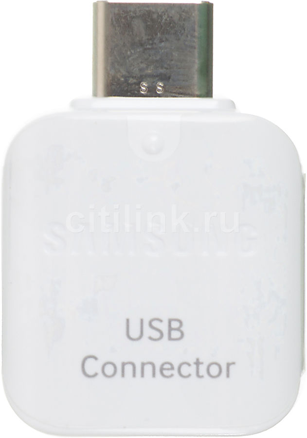 Адаптер SAMSUNG EE-UN930,  белый,  USB-C -  USB [ee-un930bwrgru]