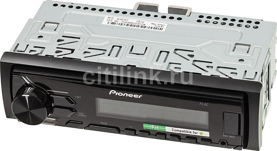 Автомагнитола PIONEER MVH-190UI,  USB
