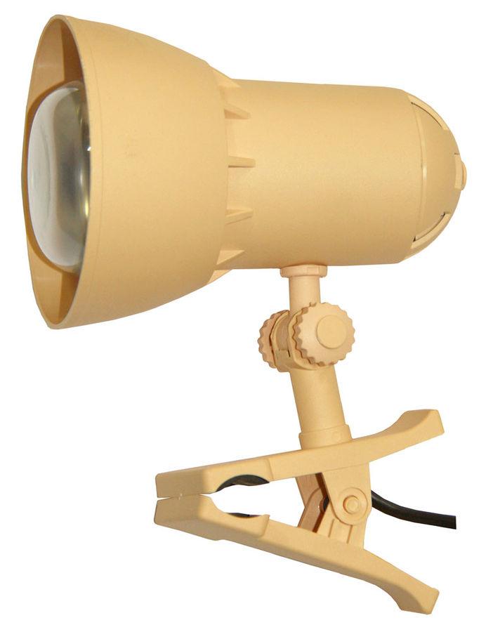 Светильник настольный ТРАНСВИТ НАДЕЖДА1MINI на прищепке,  40Вт,  ванильный [nadezhda1mini/yel]