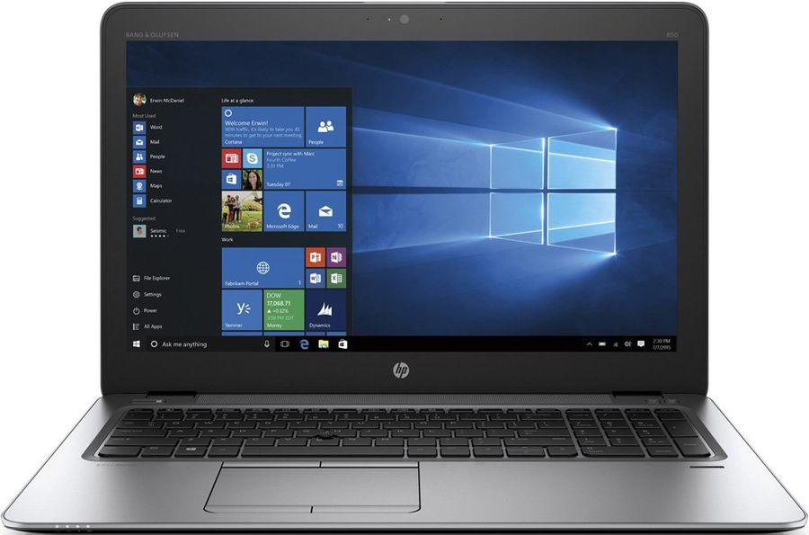 Ноутбук HP EliteBook 850 G3, 15.6, Intel Core i7 6500U 2.5ГГц, 8Гб, 512Гб SSD, Intel HD Graphics 520, Windows 7 Professional, T9X56EA, серебристыйНоутбуки<br>экран: 15.6;  разрешение экрана: 1920х1080; тип матрицы: SVA; процессор: Intel Core i7 6500U; частота: 2.5 ГГц (3.1 ГГц, в режиме Turbo); память: 8192 Мб, DDR4; SSD: 512 Гб; Intel HD Graphics 520; WiFi;  Bluetooth; DisplayPort; WEB-камера; Windows 7 Professional<br><br>Линейка: EliteBook