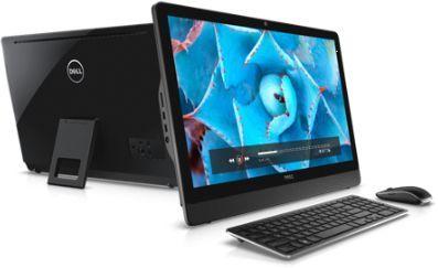 Моноблок DELL Inspiron 3464, Intel Core i3 7100U, 4Гб, 1000Гб, Intel HD Graphics 620, DVD-RW, Windows 10 Home, черный [3464-9913]