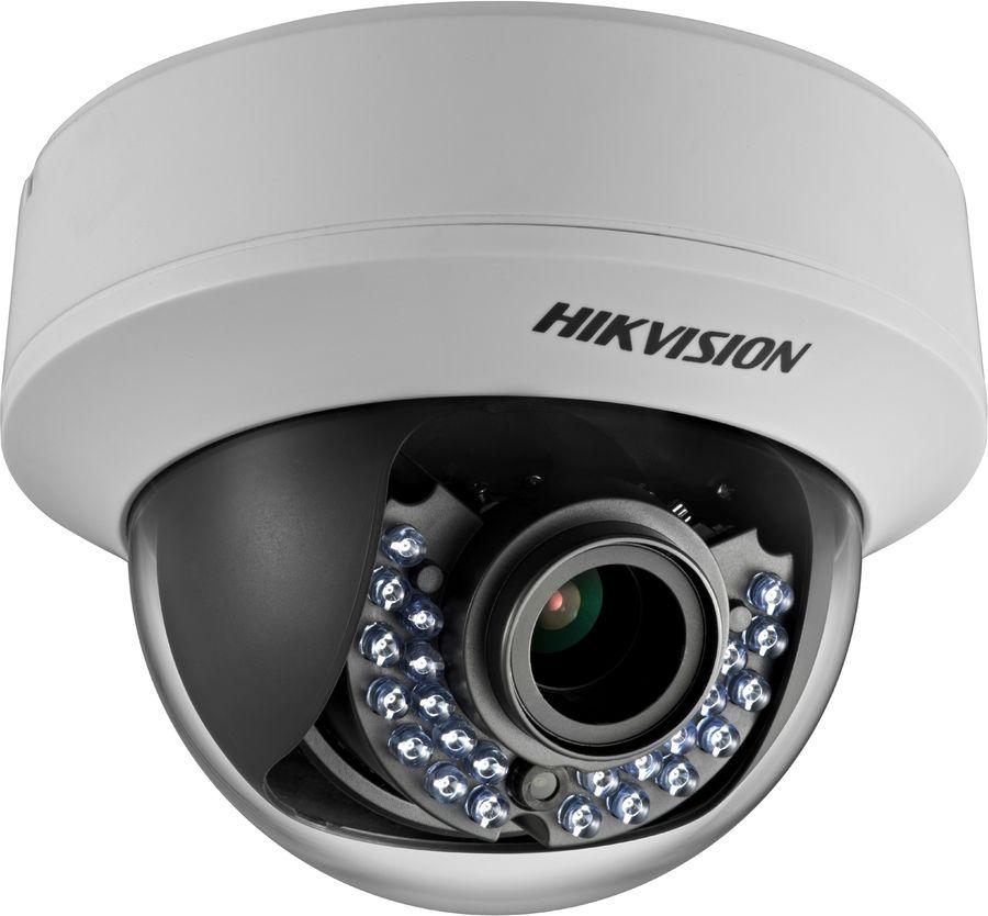 Камера видеонаблюдения HIKVISION DS-2CЕ56D1T-AIRZ,  2.8 - 12 мм,  белый