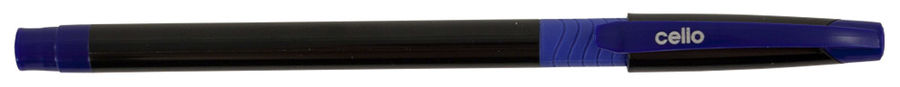 Ручка шариковая Cello SLIMO GRIP 0.7мм игловидный пиш. наконечник черный/синий синие чернила коробка