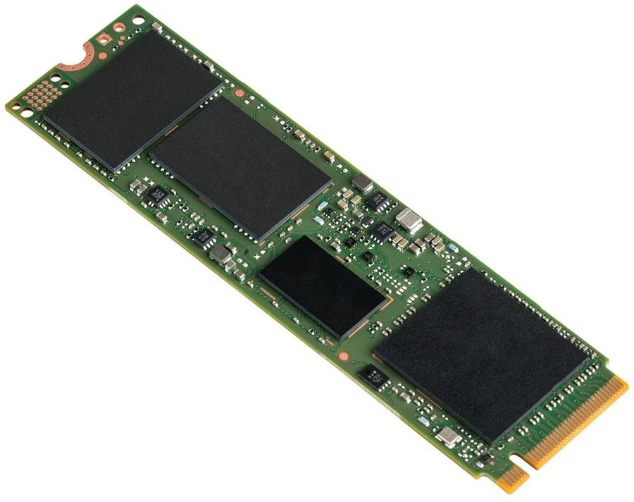 SSD накопитель INTEL 600p Series SSDPEKKW256G7X1 256Гб, M.2 2280 (Single Sided), PCI-E x4,  NVMe [ssdpekkw256g7x1 950359]
