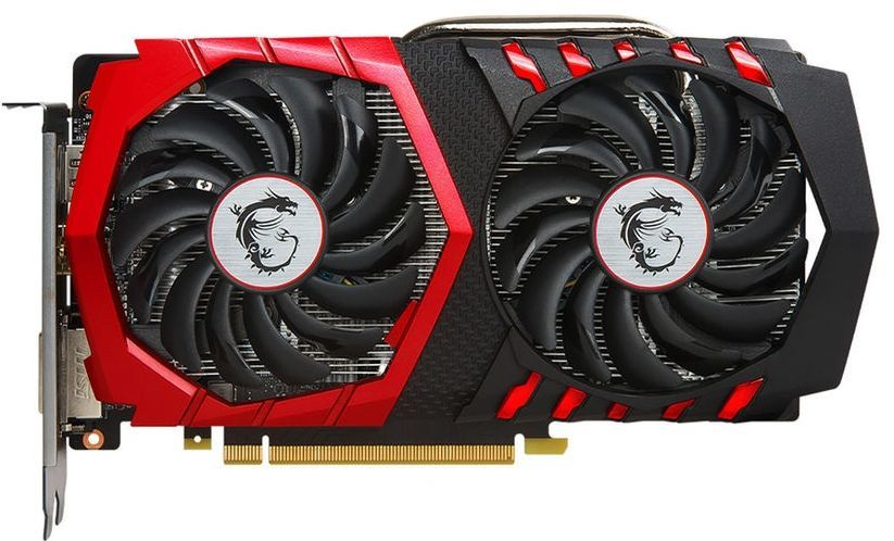 Видеокарта MSI nVidia  GeForce GTX 1050TI ,  GeForce GTX 1050 Ti GAMING X 4G,  4Гб, GDDR5, OC,  Ret