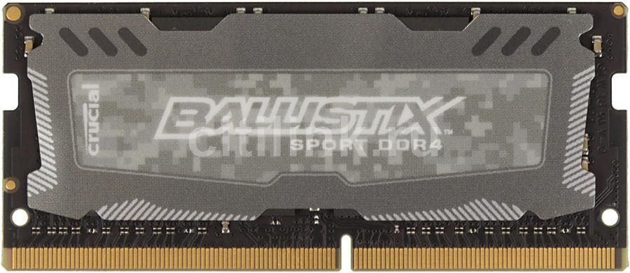 Модуль памяти CRUCIAL Ballistix Sport LT BLS8G4S240FSD DDR4 -  8Гб 2400, SO-DIMM,  Ret