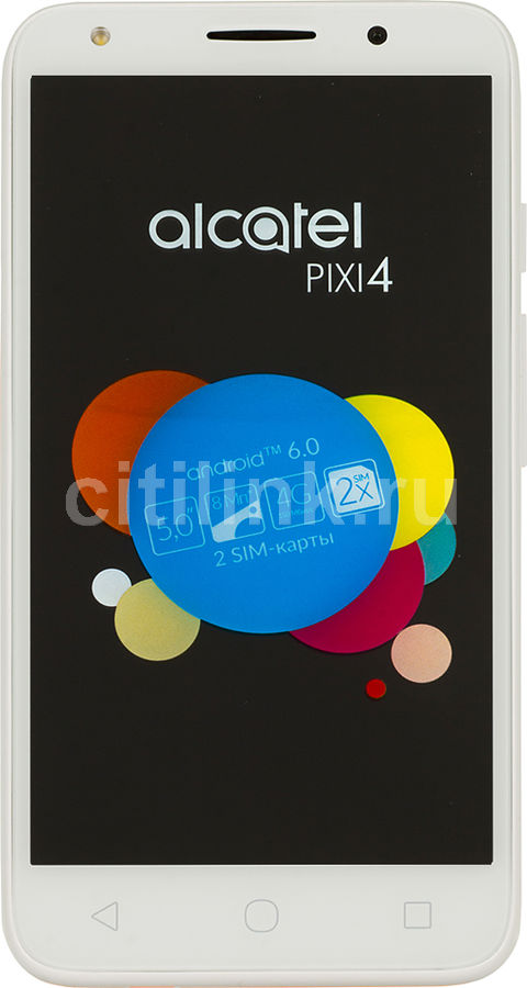 Смартфон ALCATEL Pixi 4 4G 5045D  оранжевый