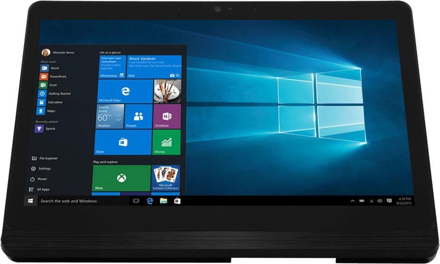 Моноблок MSI Pro 16 Flex-029RU, Intel Celeron N3150, 4Гб, 500Гб, Intel HD Graphics 400, Windows 10 Home, черный и серебристый [9s6-a62311-029]
