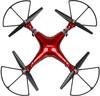 Квадрокоптер SYMA X8HG с камерой,  красный вид 6