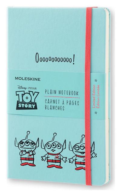 Блокнот Moleskine Limited Edition TOY STORY Large 130х210мм 240стр. нелинованный голубой