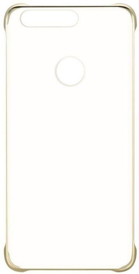Чехол (клип-кейс) HONOR PC Cover, для Huawei Honor 8, золотистый [51991680]