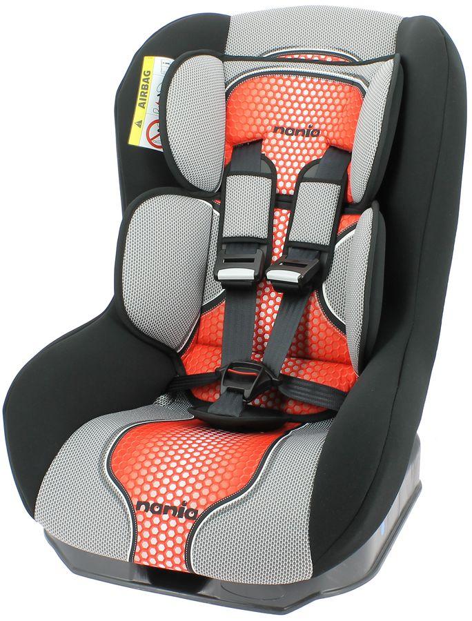 Автокресло детское NANIA Driver FST (pop red), 0+/1, серый/красный [044607]