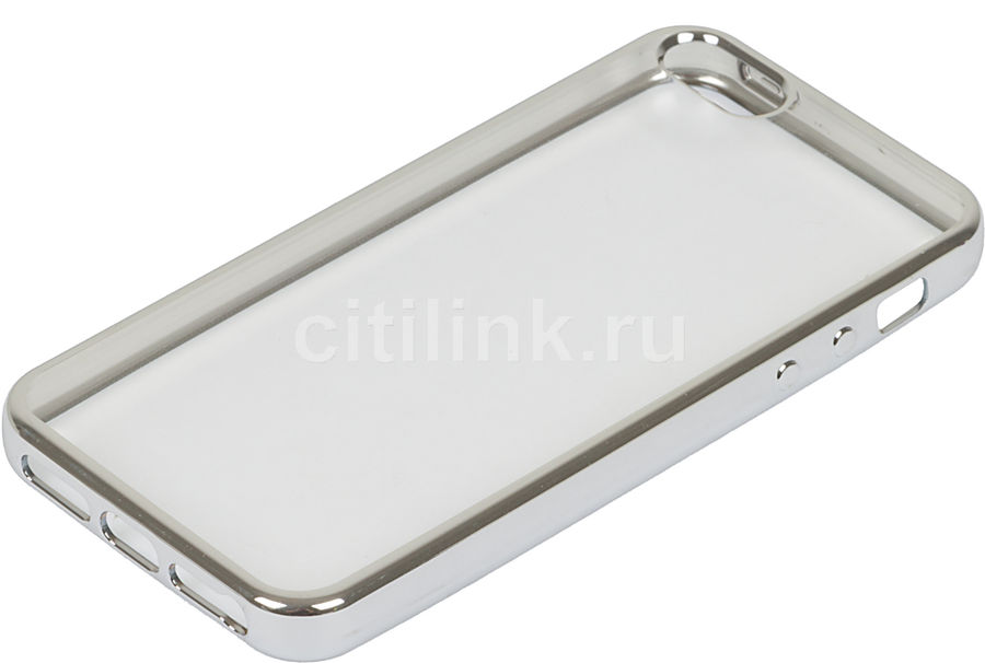 Чехол (клип-кейс) REDLINE iBox Blaze, для Apple iPhone 5/5s/SE, серебристый [ут000009619]