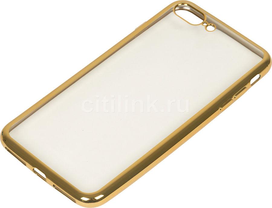Чехол (клип-кейс) REDLINE iBox Blaze, для Apple iPhone 7 Plus, золотистый [ут000009720]