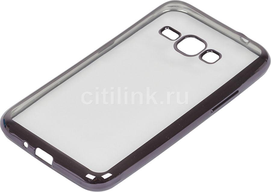 Чехол (клип-кейс) REDLINE iBox Blaze, для Samsung Galaxy J1(2016), черный [ут000009696]
