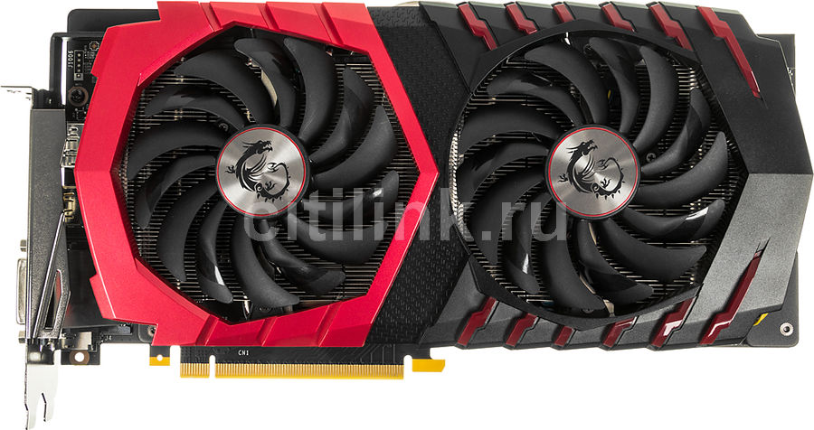 Видеокарта MSI nVidia  GeForce GTX 1060 ,  GeForce GTX 1060 GAMING 3G,  3Гб, GDDR5, OC,  Ret