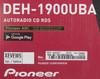 Автомагнитола PIONEER DEH-1900UBA,  USB вид 9