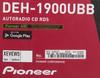 Автомагнитола PIONEER DEH-1900UBB,  USB вид 9