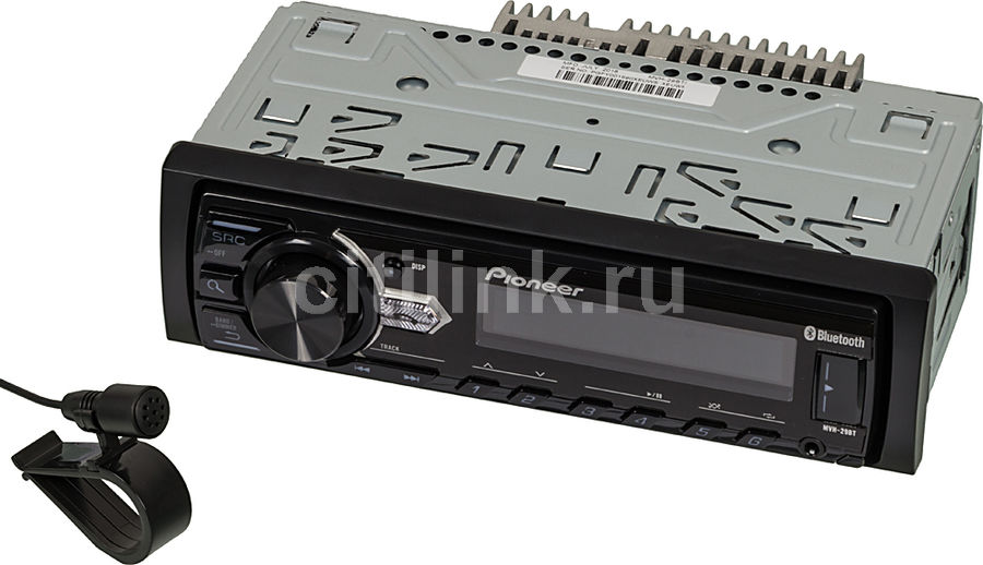 Автомагнитола PIONEER MVH-29BT,  USB