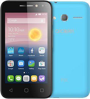 Смартфон ALCATEL Pixi 4 4034D  синий
