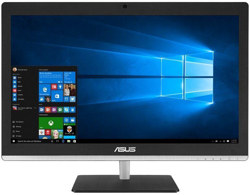 Моноблок ASUS V220IBUK-BC055X, Intel Pentium N3700, 4Гб, 500Гб, Intel HD Graphics, DVD-RW, Windows 10, черный [90pt01f1-m01170]