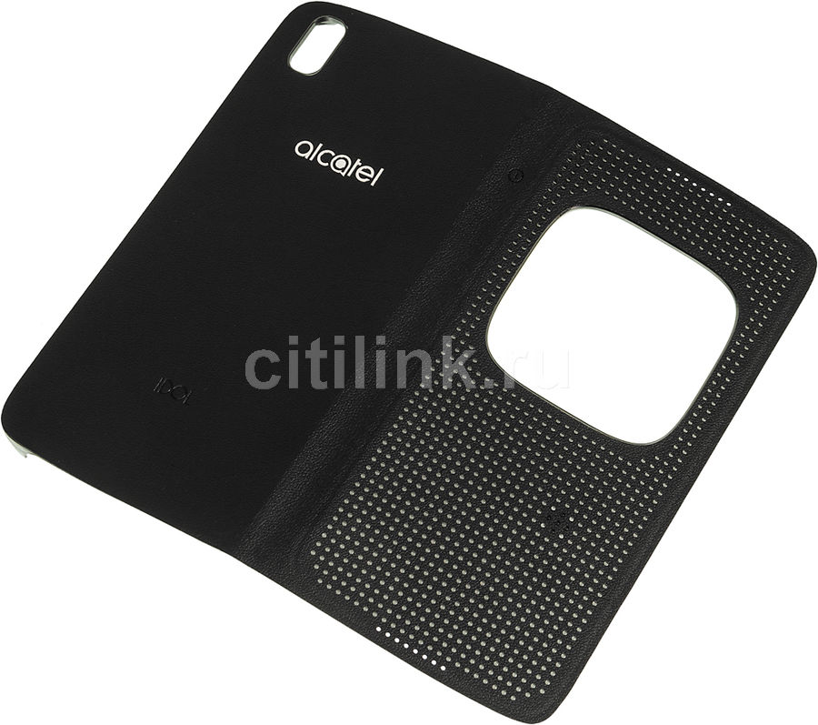 low priced 0e5f6 4ead6 Чехол (флип-кейс) ALCATEL 6055 Flip Cover, для Alcatel Idol 4, черный