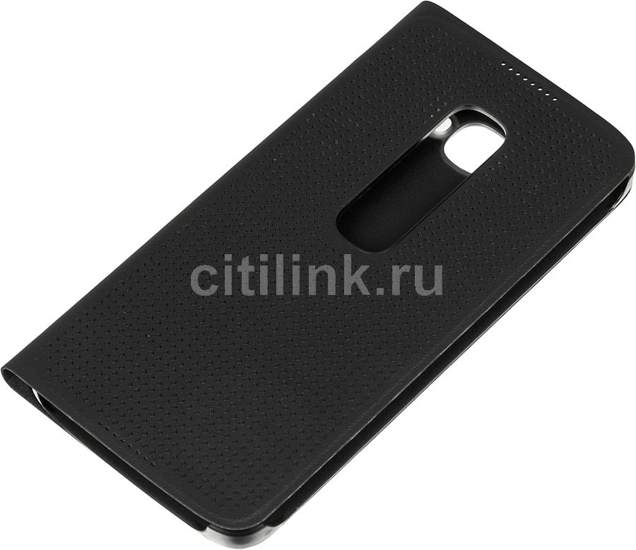 Чехол (флип-кейс) ALCATEL 6070 Flip Cover, для Alcatel Idol 4S, черный [g6070-3calmfg]