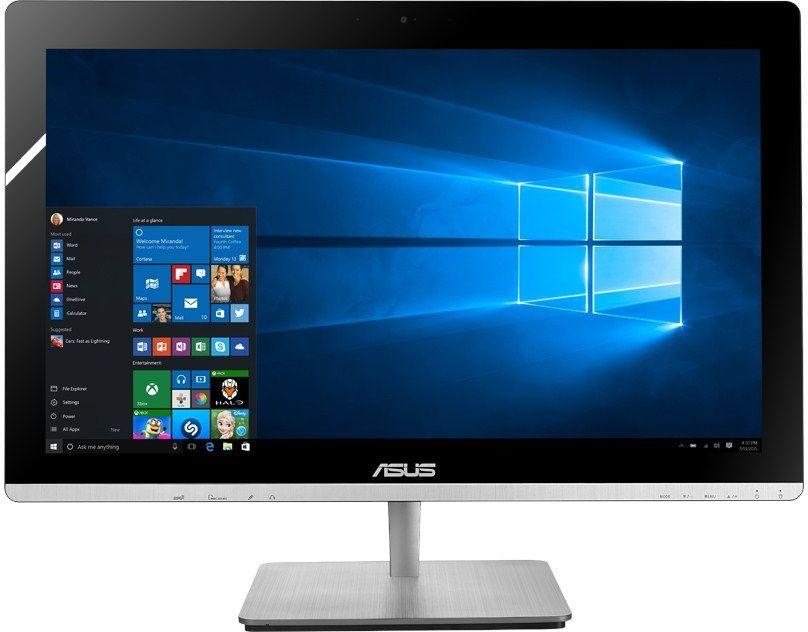Моноблок ASUS V230ICGK-BC273X, Intel Core i7 6700T, 8Гб, 1000Гб, nVIDIA GeForce 930M - 2048 Мб, DVD-RW, Windows 10, черный [90pt01g1-m13430]