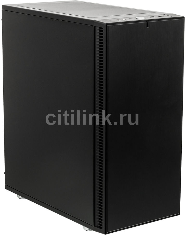 Корпус ATX FRACTAL DESIGN Define C, Midi-Tower, без БП, черный