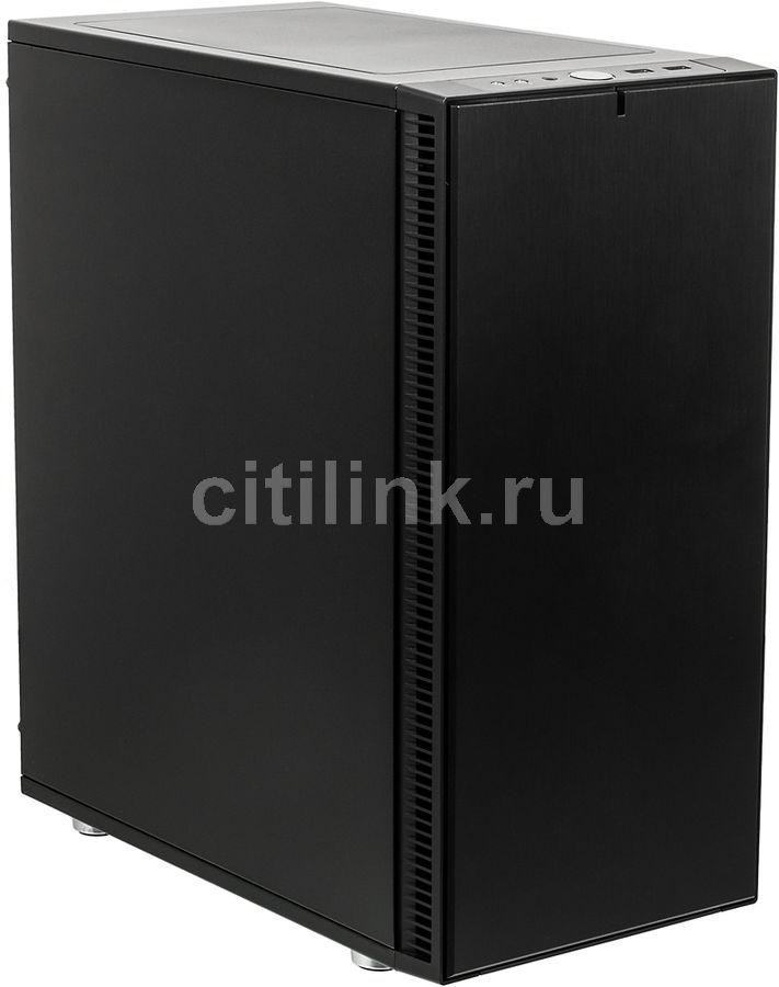 Корпус ATX FRACTAL DESIGN Define C, Midi-Tower, без БП,  черный