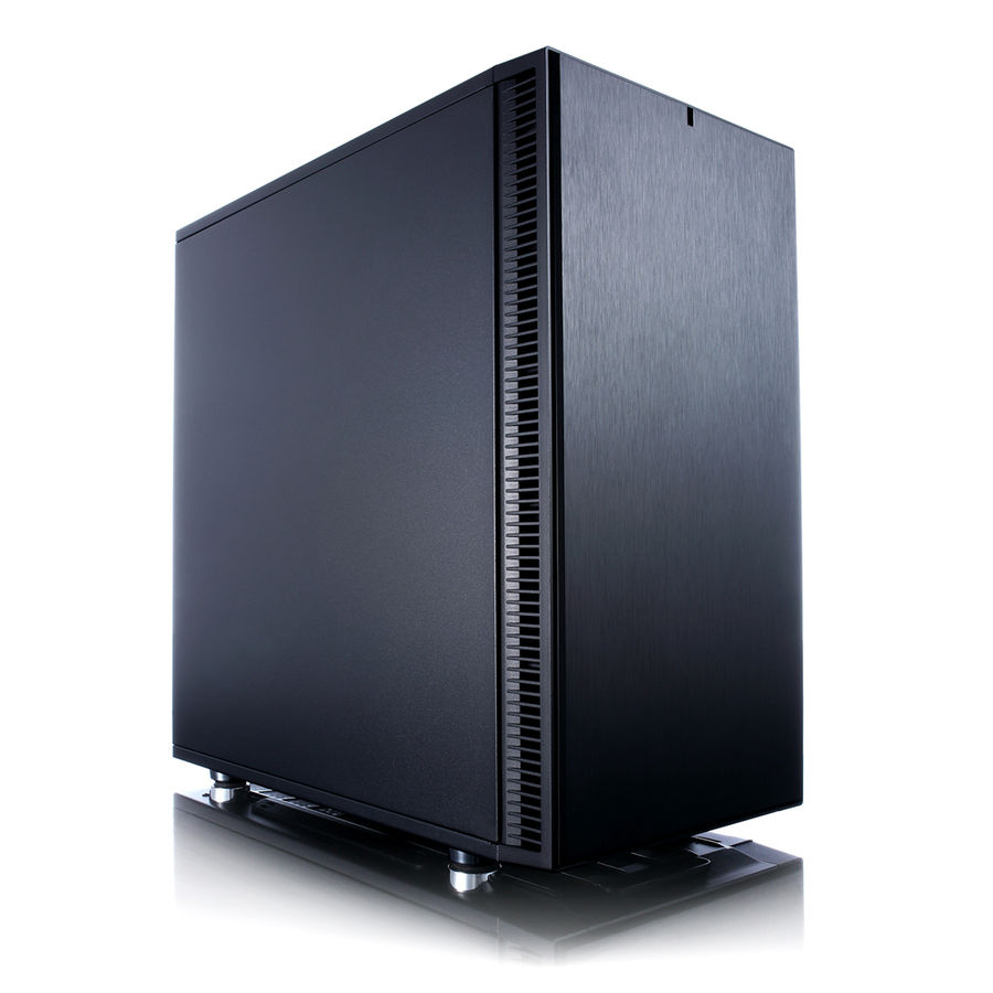 Корпус mATX FRACTAL DESIGN Define Mini C, Mini-Tower, без БП, черный корпус matx fractal design define mini c tg mini tower без бп черный