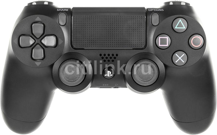 Беспроводной контроллер SONY Dualshock 4 V2 (CUH-ZCT2E), для  PlayStation 4, черный [ps719870357]