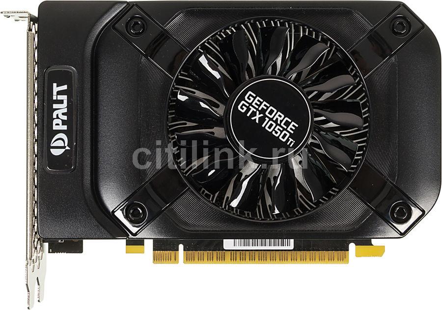 Видеокарта PALIT nVidia  GeForce GTX 1050TI ,  PA-GTX1050Ti StormX 4G,  4Гб, GDDR5, Ret [ne5105t018g1-1070f]