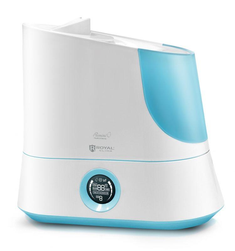 Увлажнитель воздуха ROYAL CLIMA RUH-R320/5.0E-BU,  белый  / голубой