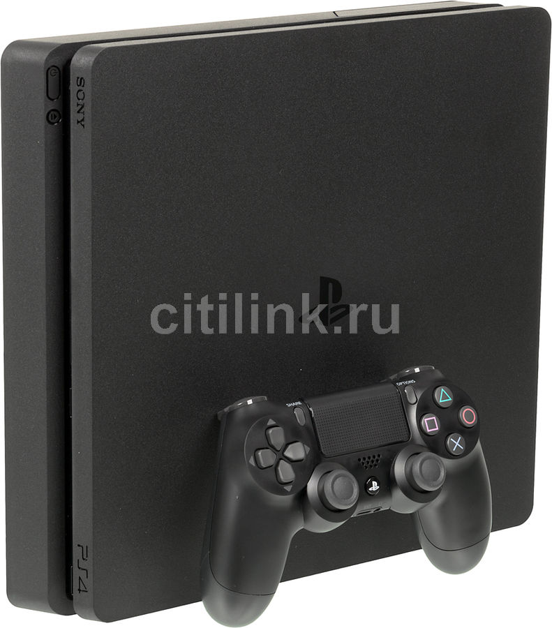 Игровая консоль SONY PlayStation 4 Slim с 500 ГБ памяти,  CUH-2008A, черный