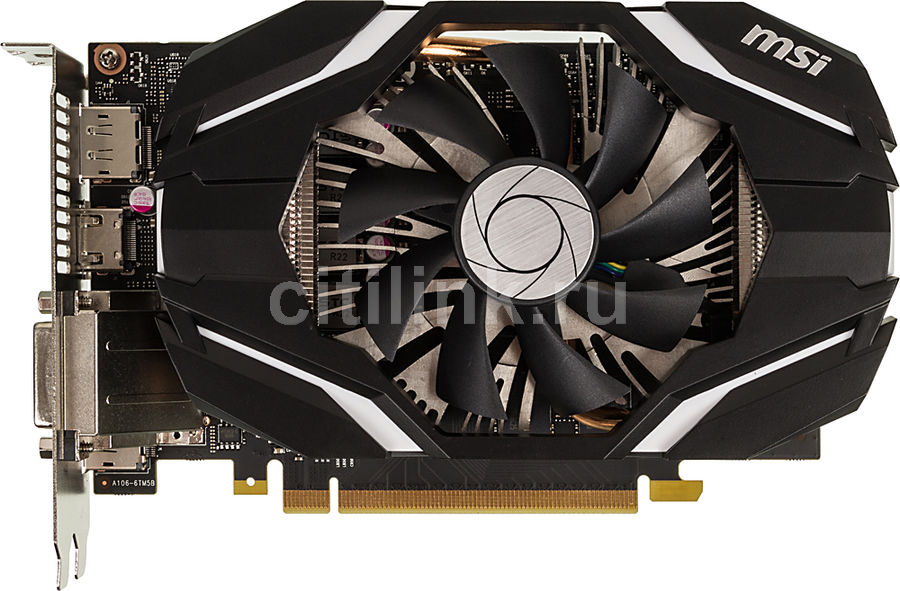 Видеокарта MSI GeForce GTX 1060,  GTX 1060 3G OC,  3Гб, GDDR5, OC,  Ret