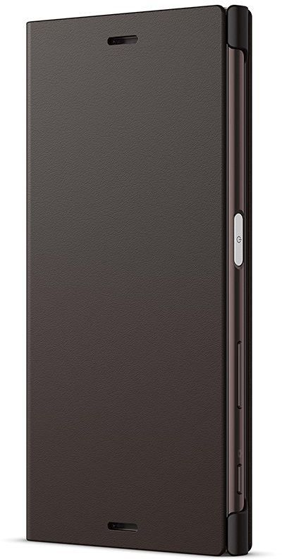Чехол (флип-кейс) SONY Flip Cover, для Sony Xperia XZ, графит [scsf10 black]
