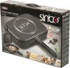 Сковорода-гриль SINBO SP 5218, 32х24см, без крышки,  серый вид 6