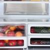 Холодильник SHARP SJ-EX98FBE,  трехкамерный, бежевый вид 5