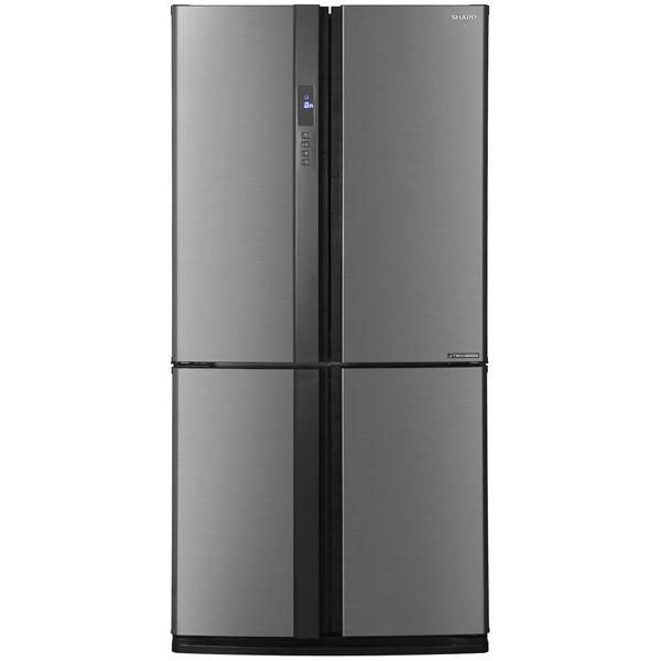 Холодильник SHARP SJ-EX98FSL,  двухкамерный, серебристый