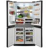 Холодильник SHARP SJ-EX98FSL,  двухкамерный, серебристый вид 2