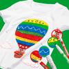 Фломастеры для ткани Carioca CROMATEX 40956 6цв. коробка с европодвесом вид 1