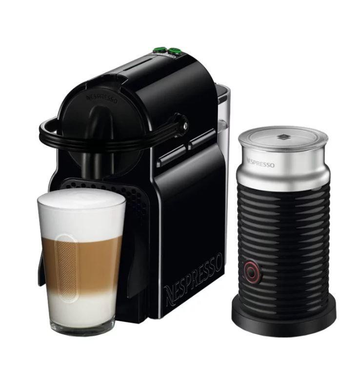 Капсульная кофеварка DELONGHI Nespresso UMilk EN80.BAE, 1260Вт, цвет: черный [0132191681]