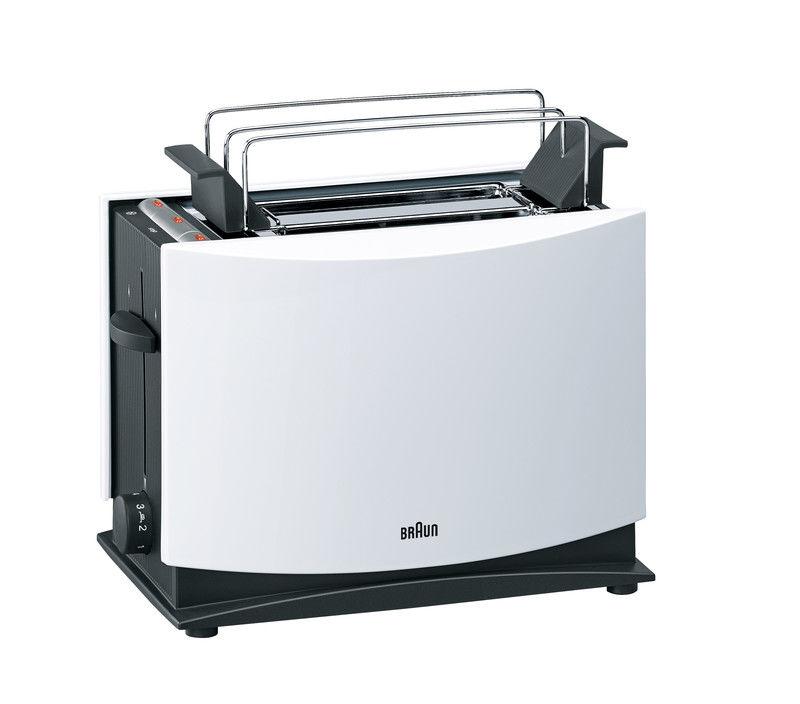 Тостер BRAUN HT400 WH,  белый [0x81260904]